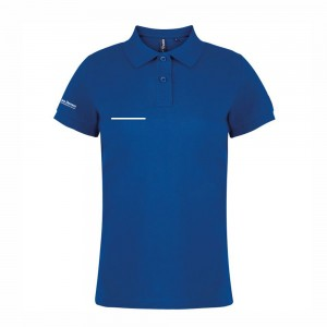 Womens Polo Shirt with embroidered FITASC line and optional name, naickname & association number